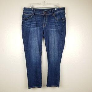 Lucky Brand - 'Georgia Boyfriend' Cropped Jeans